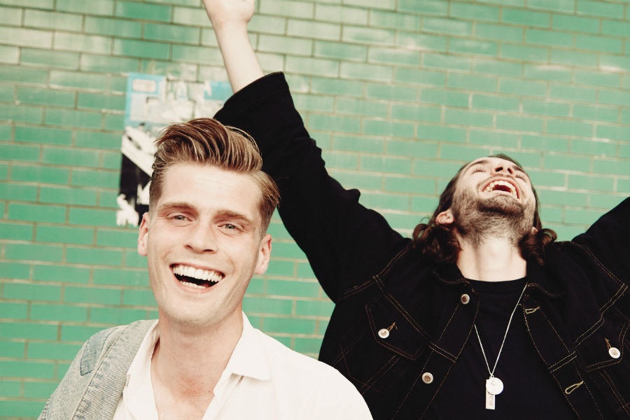 Hudson Taylor Celebrate Irish Number 1 Album