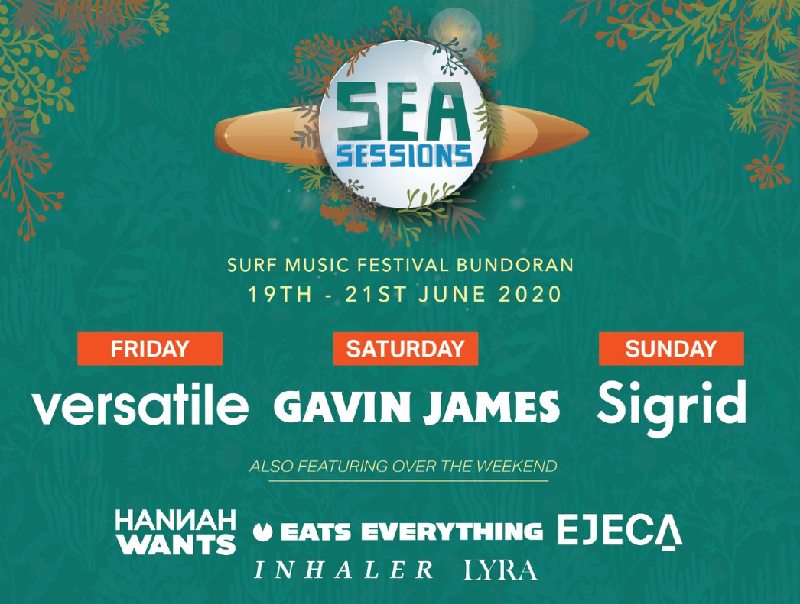 Sea Sessions Surf & Music Festival Announce Headliners Day Breakdown