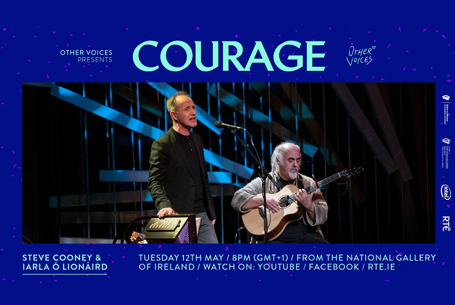 Other Voices 'Courage' Returns with Iarla Ó Lionáird and Steve Cooney