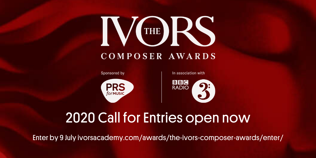 The Ivors Academy opens submissions for The Ivors Composer Awards 2020