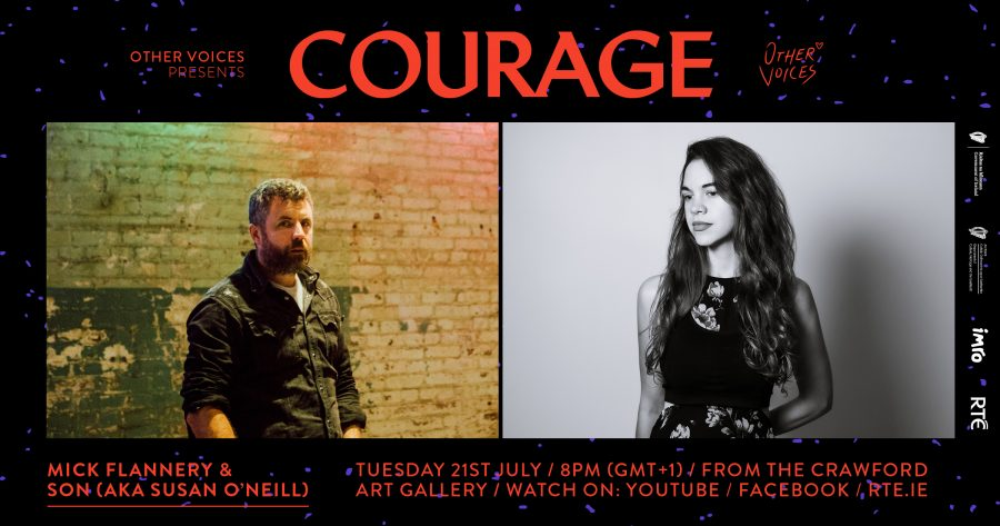 Courage Announces Performances from Mick Flannery and SON