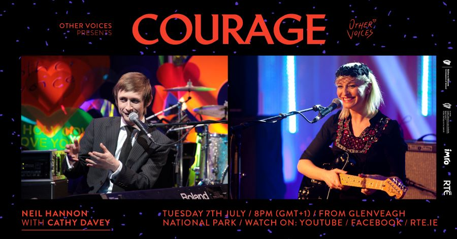 Courage Returns with Neil Hannon & Cathy Davey,  Eve Belle, Saint Sister and Crash Ensemble