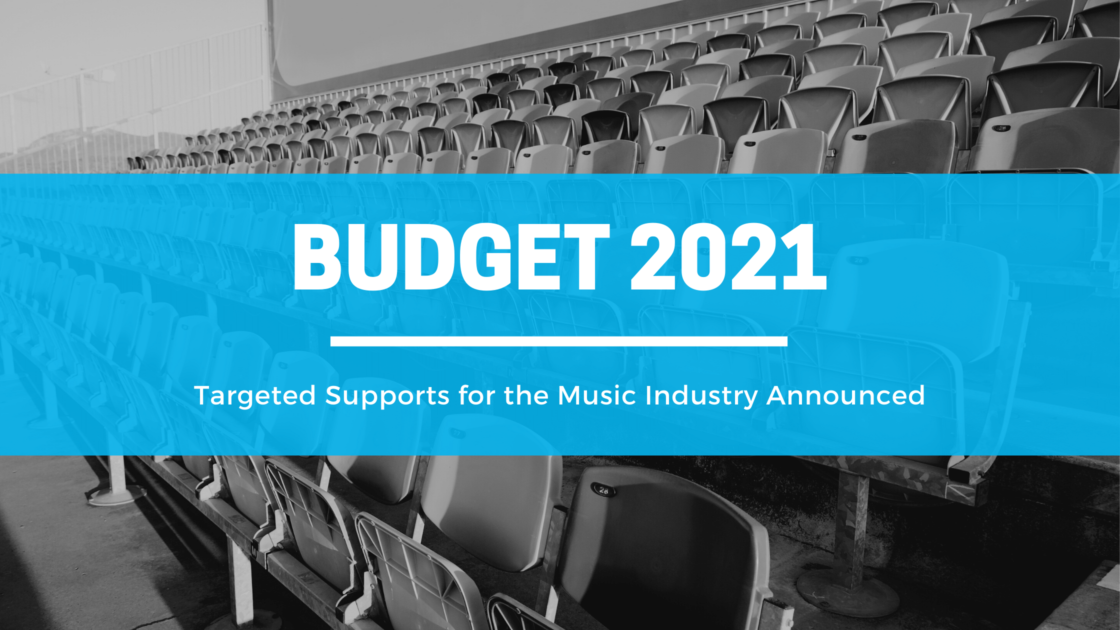 Targeted Supports for the Irish Music Industry Announced in Budget 2021