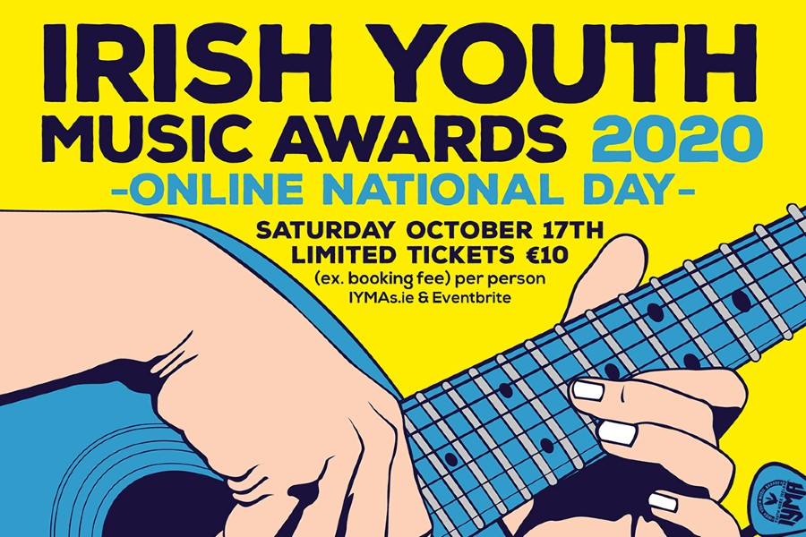 Irish Youth Music Awards Announce 2020 National Online Event