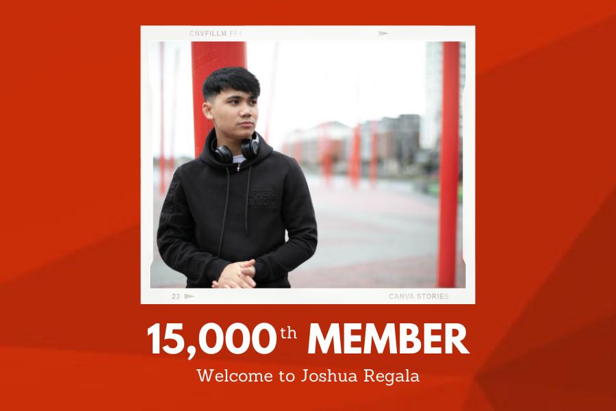 IMRO welcomes Joshua Regala as our 15,000th Member