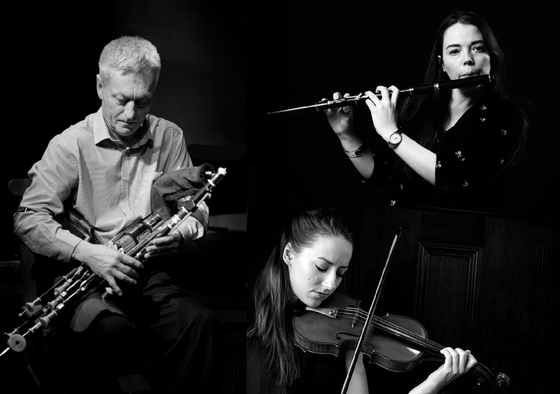 More tunes from the Goodman Manuscripts – Mick O'Brien, Emer Mayock & Aoife Ní Bhriain