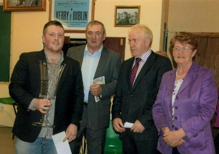 Barry Tierney wins Sean McCarthy Traditional Irish Ballad Competition 2011