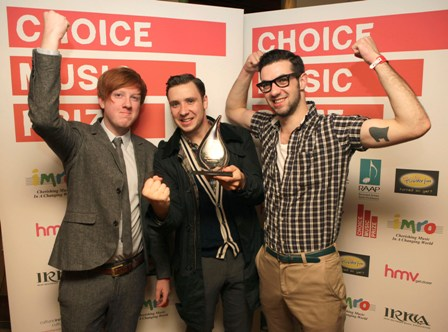 Two Door Cinema Club Win The Choice Music Prize Irish Album Of The Year 2010